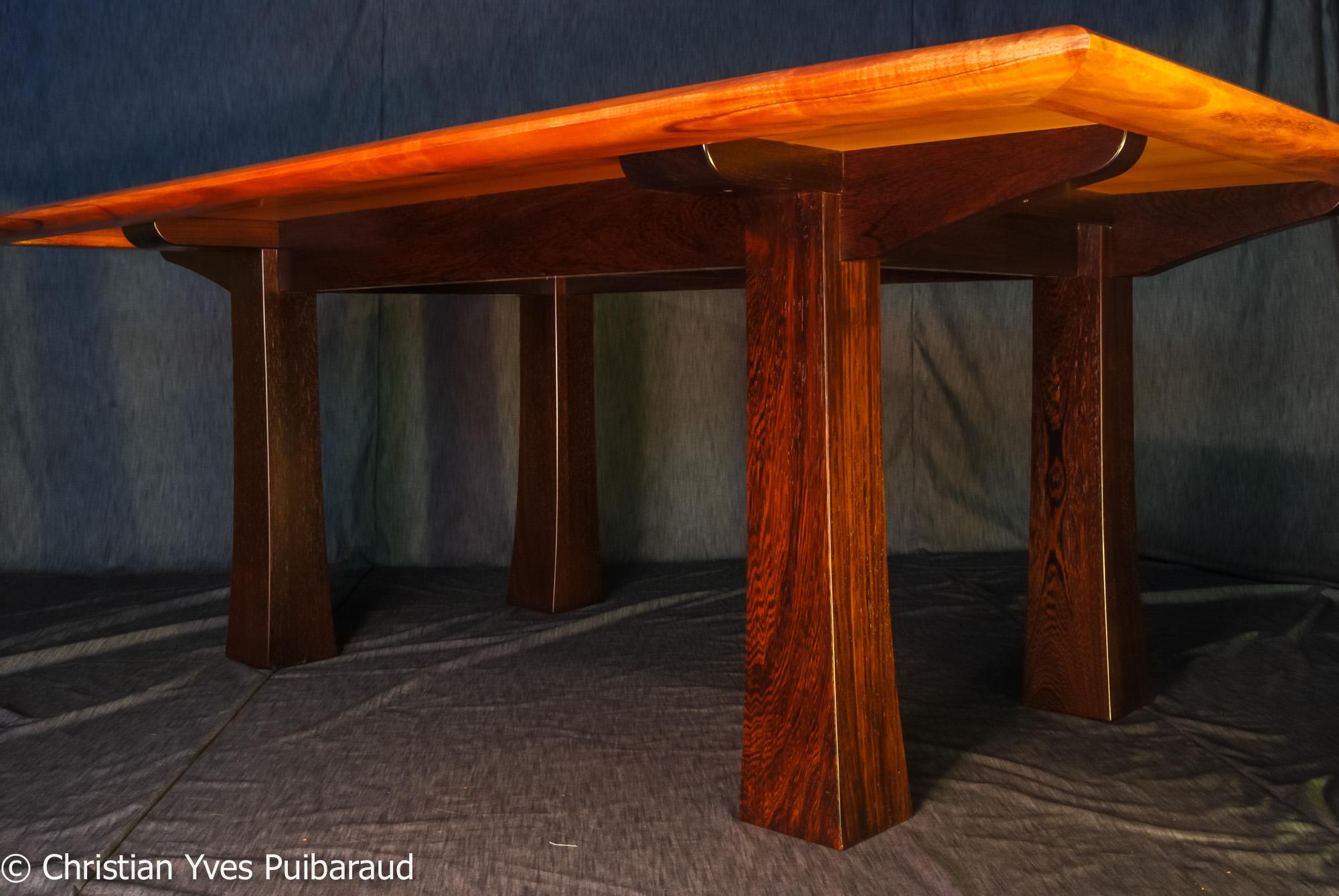 Curly Koa Dining Table